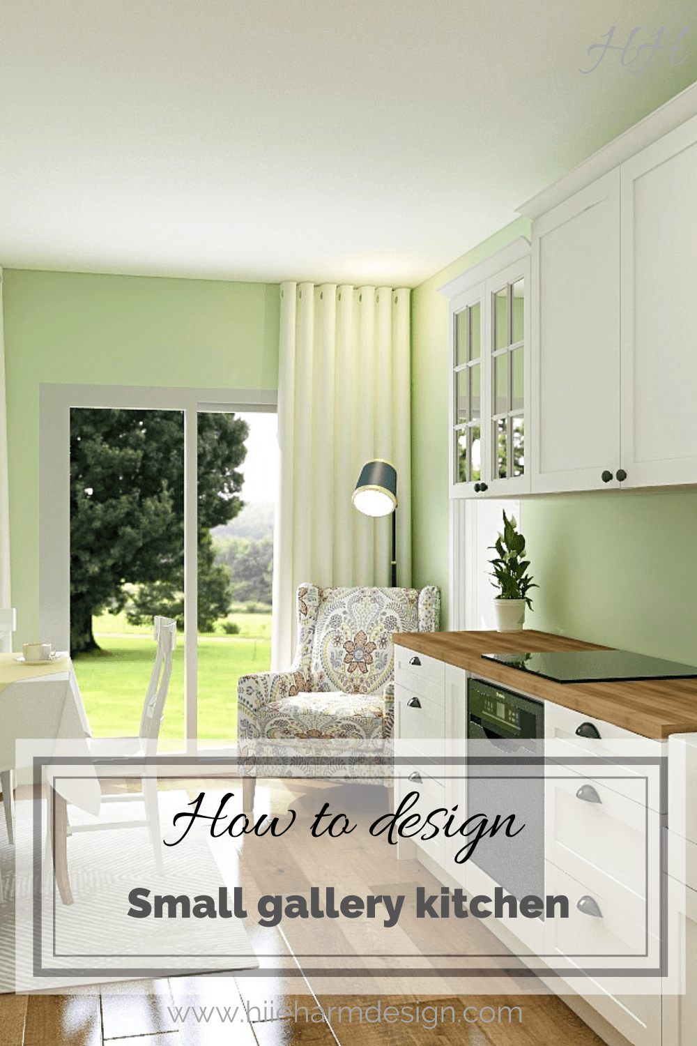How to design small gallery kitchen 7-min