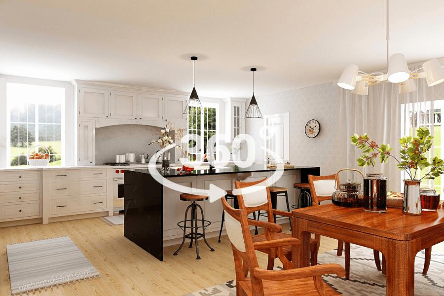 Kitchen designer Hiie Harm American large 360